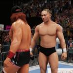 WWE2k18で内藤哲也VS鈴木みのる その①