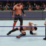 WWE2k18でヒデオ・イタミ(KENTA)VS戸澤陽 その④