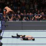 WWE2k18でヒデオ・イタミ(KENTA)VS戸澤陽 その③