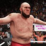 WWE2k18でアレイスターブラックVSラーズ・サリバン その②