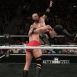 WWE2k18でアレイスター・ブラックVSラーズ・サリバン その④