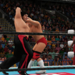 スランプから復帰した95年当時の武藤敬司(CAW)をクリエイトして破壊王に挑んでみた(WWE2K18) その②