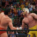 スティング&ムティング(武藤敬司)組VSリック・フレアー&アーン・アンダーソン組(WWE2K18)