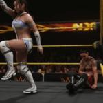 WWE2k19をさっそくやってみた カイリ・セインVSシェイナ・ベイズラー後半