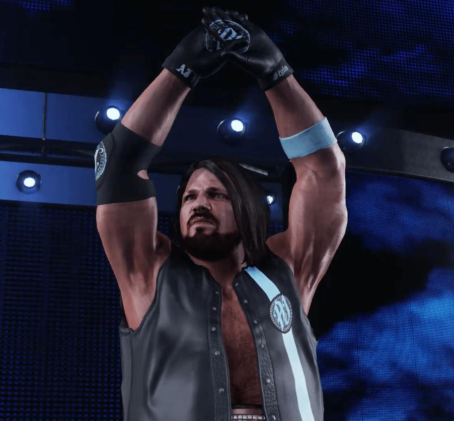 WWE2k19で秘策を用いてAJスタイルズに挑む! その①