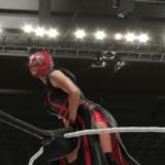 WWE2k19で紫雷イオVSトニー・ストーム 前半