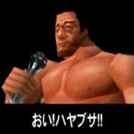 風雲昇り龍 天龍源一郎! 龍VS不死鳥 天龍がハヤブサと激突!(バープロ)