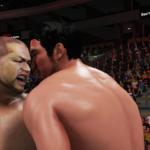ザ・レスラー柴田勝頼!WWE2k19で柴田勝頼VS石井智宏! その①