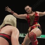 WWE2k19で里村明衣子VSトニー・ストーム! その③