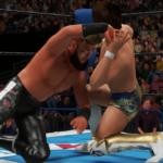 WWE2k19でSANADA VS 飯伏幸太  その①