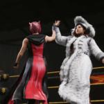 WWE2k19でカイリ・セイン&紫雷イオVSレイシー・エバンス&ビアンカ・ブレアー その①