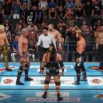 WWE2k19で飯伏&ケイオス組VSハポン軍 8人タッグマッチ! その①