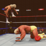 WWE2k20でハルク・ホーガンVSリック・フレアー その②