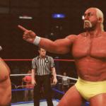 WWE2k20でハルク・ホーガンVSリック・フレアー 完