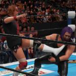 WWE2k19タッグマッチでEVILと内藤が激突!イービル&石森太二VS内藤哲也&BUSHI!その②