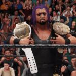 WWE2k19タッグマッチでEVILと内藤が激突!イービル&石森太二VS内藤哲也&BUSHI!