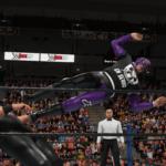 WWE2k19タッグマッチでEVILと内藤が激突!イービル&石森太二VS内藤哲也&BUSHI!完