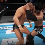 NJC2回戦!KENTA鈴木みのるの壮絶なるシバキ合い!